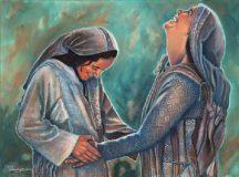 """""""Un saluto che sa di Spirito Santo….""""    Domenica IV di Avvento (Anno C)"""